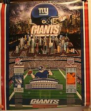 "New York Giants Pride History of Victory Super Tickets 16 x 20"" Poster"