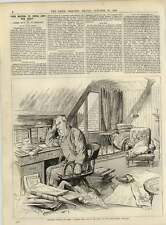1891 Prof Tyndall At Home In Study Hind Head House Moselle Total Wreck