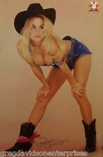 Pamela Anderson 23x35 Cowboy Boots & Hat Poster