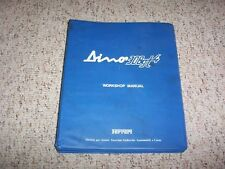 1973-1975 Ferrari Dino 308GT4 308 GT4 Workshop Shop Service Repair Manual 74