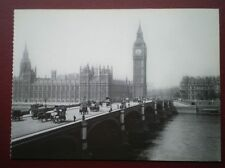 POSTCARD RP LONDON WESTMINSTER BRIDGE & BIG BEN SIZE 6.5 X 5 INCHES