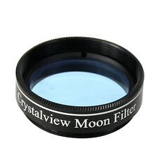 Crystalview Moon 1.25'' Filter for Telescope Eyepiece Eliminate Street Light co