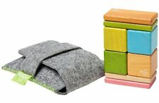 NEW 8 Pc Tegu Magnetic Wooden Block Set w/ Pouch, Tints (A-10-012-SJG) FREE SHIP