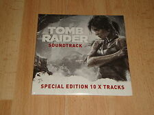 TOMB RAIDER 2013 MUSIC CD SOUNDTRACK SPECIAL EDITION 10 X TRACKS NEW F. SEALED