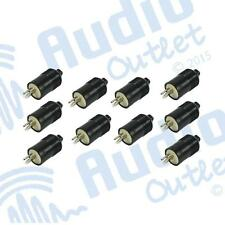10 Pack of 2 Pin Male Din Plugs to suit Bang & Olufsen & Sonab Speakers (DP2)