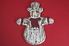 Christmas Snowman Hanging Decoration Ornament