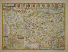 Kent con la sua città da John velocità. 1676.