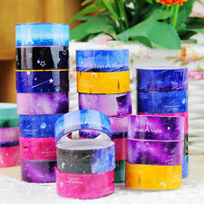 15mmX2M Galaxy Cosmos Star Blue Sky Washi Tape Diary Filofax Masking Tape New