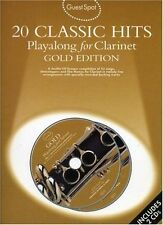 Guest Spot 20 Classic Hits Play Along for Clarinet Book CD Sheet Music S75