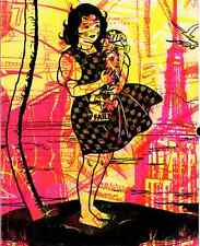 FAILE & BAST Deluxx Flux Book Fantasy Island Cover SIGNED like Banksy Obey art