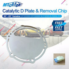 Yamaha D Catalytic Plate w/Cat Removal Chip for 800 1200 1300 GPR XLT Waverunner