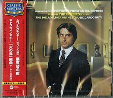 RICCARDO MUTI-MUSSORGSKY/RAVEL: PICTURES FROM AN EXHIBITION:...-JAPAN CD C68