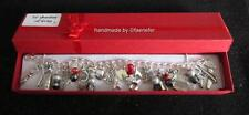 50 Fifty Shades Of Grey inspired themed LOADED charm bracelet with red gift box