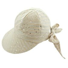 LADIES   SPARKLE SCOOPS HAT  ---   BEIGE --- NEW