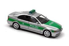BMW E39 Polizei Silver/Green 2002 NEO43298 1:43 Neo scale models