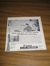 1958 Print Ad Crosman Pellguns 10 Shot Repeater Model 400 Rifle Fairport,NY