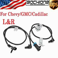 2X ABS Front Left Right Wheel Speed Sensor For GMC Cadillac Chevrolet Silverado