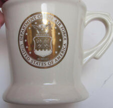Set of 2 Dept of the Air Force Coffee Mugs with  443rd Tech Training SQCN