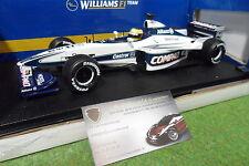 F1 WILLIAMS BMW FW22  SCHUMACHER 1/18 HOT WHEELS MATTEL 26735 formule 1