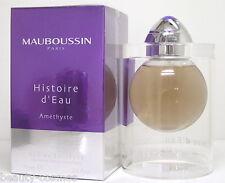 Mauboussin Histoire d' Eau Amethyste 75 ml EDT Spray  Neu  OVP