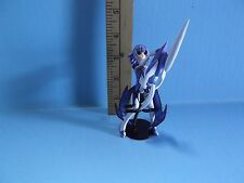 "Yujin SR Series Super Real Figure 4""in Blue hair Girl Holding Weapon ?"