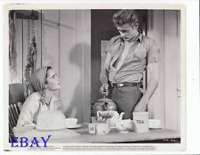 James Dean Elizabeth Taylor VINTAGE Photo Giant