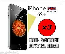 """3x HQ CLEAR SCREEN PROTECTOR COVER LCD GUARD FILM APPLE IPHONE 6S PLUS 5.5"""" 6S+"""