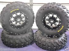 "CAN AM RENEGADE 25"" BEAR CLAW ATV TIRE & ATV WHEEL KIT LIFE WARRANTY SS4"