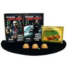 Street Monte, The Ultimate Kit - Includes DVD, Three Shell Game and Close-up Mat
