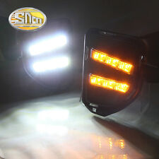 Sncn LED daytime running light DRL auto Fog lamp  for Toyota Hiace 2014-2016