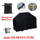 Hot 57'' Waterproof BBQ Cover Gas Barbecue Grill Protection Patio Outdoor Black