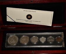 1949 Canada YEAR SET incl. ONE DOLLAR Coin in a 1911-2011 PROOF SET WOODEN BOX!