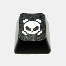 Dark Crossbones Novelty Doubleshot Cherry MX Keycaps / Key cap