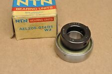 NOS New NTN Ball Bearing & Locking Collar Assembly AEL205-014D1