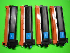 4 NIB Color Toner for Brother TN210BK TN210Y TN210M TN210C MFC-9125CN MFC-9325CW