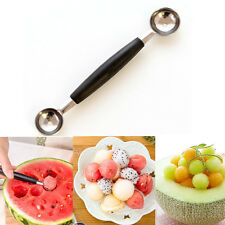 Double-end Stainless steel blade with plastic handle Baller Scoop Fruit Spoon gt