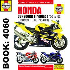 Honda CBR900RR FireBlade 2000-03 Haynes Workshop Manual