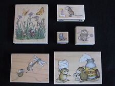 "Lot - Stampabilities  "" House Mouse ""  Rubber Stamps"