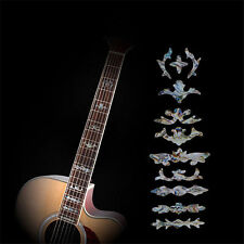 Guitar Fret Inlay Stickers Imitation Abalone Fretboard Neck Decals