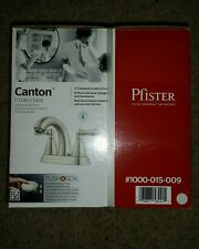 "Pfister Canton 4"" Centerset 2-Handle Bathroom Faucet in Brushed Nickel"