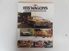 1975 Chevy Wagons Product Brochure