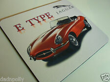 JAGUAR E-TYPE - CLASSIC JAG  MOUSE MAT - PERSONALISED IF REQUIRED - IDEAL GIFT