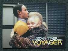 STAR TREK VOYAGER _ 1995 SkyBox PROMO Card Series One - MAIL WORLDWIDE ...b