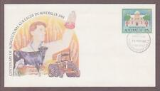 Australia PSE # 062 Agricultural Colleges Centenary FDC - I Combine S/H