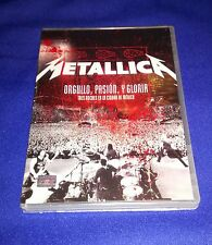 NEW RARE METALLICA Mexico Orgullo, Pasion, Y Gloria DVD 2009 Live Show Christmas