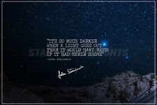 JOHN STEINBECK QUOTE PRE SIGNED PHOTO PRINT - 12 X 8 INCH -