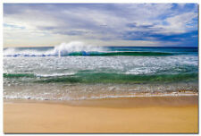 GQ683 Crashing Wave Ocean Scenery Nature Art Wall Poster 24x36 inches Blue Sea