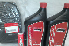 Honda EU6500 Oil Change Service Kit Filter Spark Plug Air Generator EU6500is