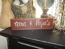 Wood Signs Different styles of sayings Country Decor Rustic/Prim Block Signs