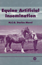 Equine Artificial Insemination, Davies Morel, Mina C. G., New Book